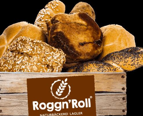 RoggnRoll-Logo Brotkörbchen